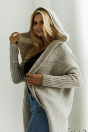 Sweter Emma Beżowy SP13